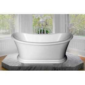 Акриловая ванна BelBagno BB09 170x74 отдельностоящая