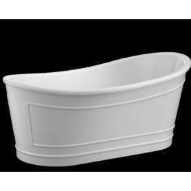 Акриловая ванна BelBagno BB32-MATT 168x90 отдельностоящая