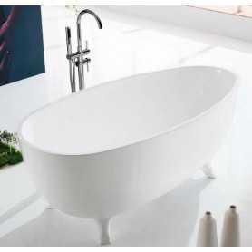 Акриловая ванна BelBagno BB42 170x85 отдельностоящая