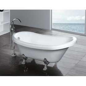 Акриловая ванна Gemy G9030C 175x82 ножки хром