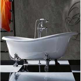 Ванна Tiffany World TW176 176x80 ножки хром