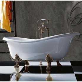 Акриловая ванна Tiffany World TW176 176x80 ножки бронза