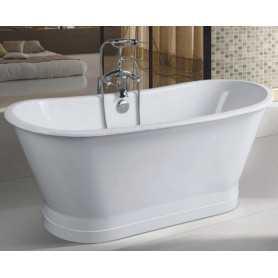 Чугунная ванна Sharking SW-1002b 170x68 отдельностоящая