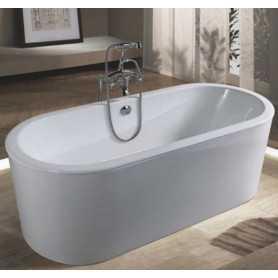 Чугунная ванна Sharking SW-1013b 170x75 отдельностоящая