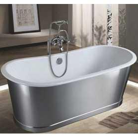 Чугунная ванна Sharking SW-1012b 170x75 отдельностоящая