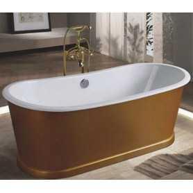 Чугунная ванна Sharking SW-1012A 170x75 отдельностоящая