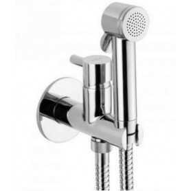 Гигиенический душ скрытого монтажа Webert EL 870303 PVC цвет хром