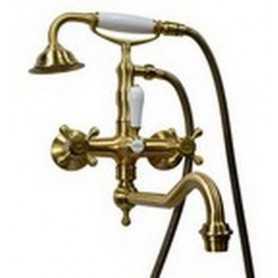 Фото Смеситель для ванны Magliezza Classico 50606-br цвет бронза