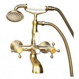 Фото Смеситель для ванны Magliezza Classico 50106-3-br цвет бронза