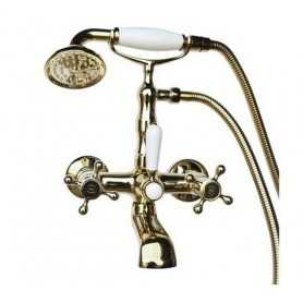 Фото Смеситель для ванны Magliezza Classico 50106-3-do цвет золото