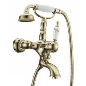 Фото Смеситель для ванны Boheme Provanse Ripresa 363 цвет бронза