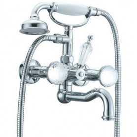 Фото Смеситель для ванны Boheme Brillante Presente 353 цвет хром