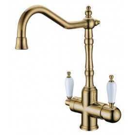 Фото Смеситель для кухни c краном для питьевой воды Boheme Medici Ripresa 111 цвет