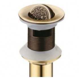 Донный клапан Bronze de Luxe 21979 цвет бронза с переливом