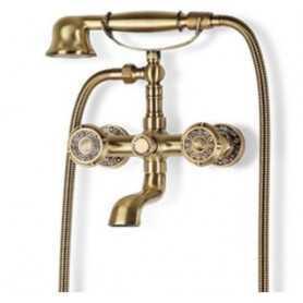 Смеситель для ванны Bronze de Luxe Royal 10119 цвет бронза