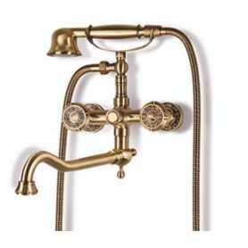 Смеситель для ванны Bronze de Luxe Royal 10119D цвет бронза