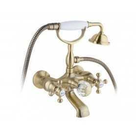 Смеситель для ванны Timo Nelson 1914Y-CR antique цвет бронза