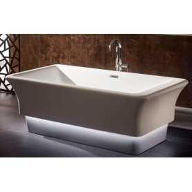 Ванна отдельностоящая Gemy G9221 акриловая 170х85 с подсветкой