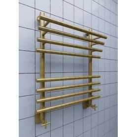 Полотенцесушитель водяной Ника ЛБ3 80х60 цвет бронза 8 секции