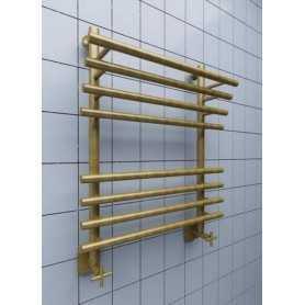 Полотенцесушитель водяной Ника ЛБ3 100х60 цвет бронза 9 секции