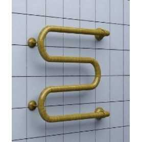Полотенцесушитель водяной Ника Simple М-1 60х70 цвет бронза