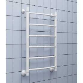 Полотенцесушитель водяной Ника ARC ЛД 80х60 цвет белый 6 секции