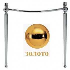 Фото Структура для раковины Simas AR CG1 цвет золото santekhnika-kupit.ru