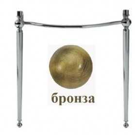 Фото Структура для раковины Simas AR CG2 цвет бронза santekhnika-kupit.ru