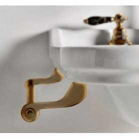Фото Полотенцедержатель боковой для раковин Kerasan Waldorf 7408 цвет бронза