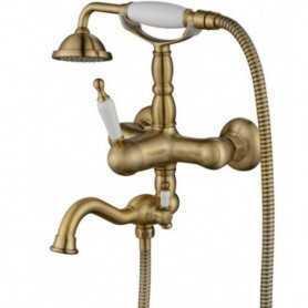 Фото Смеситель для ванны Aksy Bagno Prestigio 701-br цвет бронза