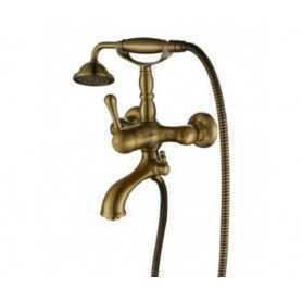 Фото Смеситель для ванны Aksy Bagno Faenza-Light 401-br цвет бронза