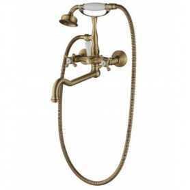 Фото Смеситель для ванны Aksy Bagno Lucia 201-br цвет бронза