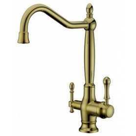 Фото Смеситель для кухни c краном для питьевой воды Aksy Bagno TL-18050-br