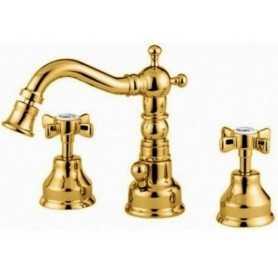 Фото Смеситель для биде на три отверстия Migliore Princeton 825-do цвет золото