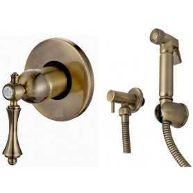 Фото Гигиенический душ Ganzer Silestis 77055/2011-br цвет бронза