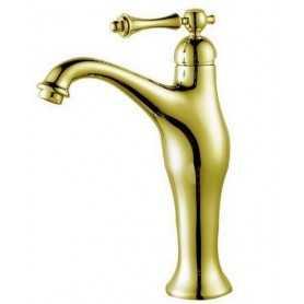 Фото Смеситель для раковины (высокий) Ganzer Silestis 77013-do цвет золото