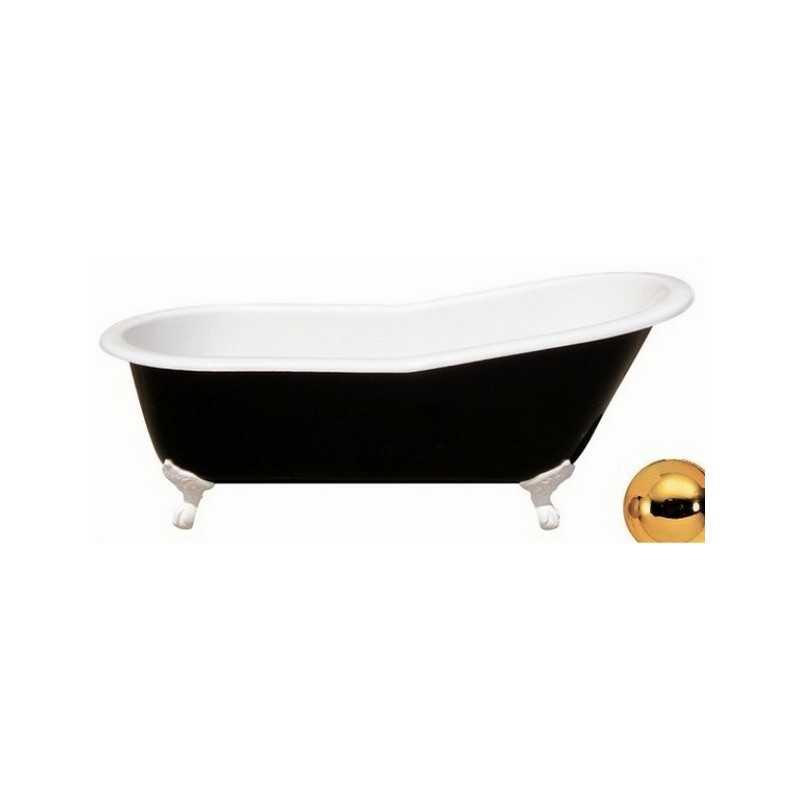 Фото Ванна чугунная Magliezza Gracia 170х76 ножки золото santekhnika-kupit.ru