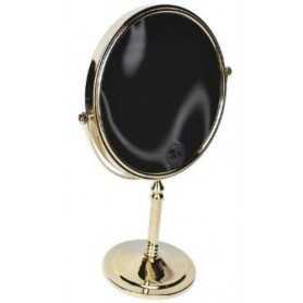 Фото Зеркало косметическое настольное Magliezza Fiore 80106do цвет золото