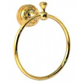 Фото Полотенцедержатель кольцо Magliezza Primavera 80309do цвет золото