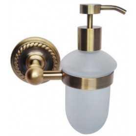 Фото Дозатор для жидкого мыла Magliezza Kollana 80513br цвет бронза