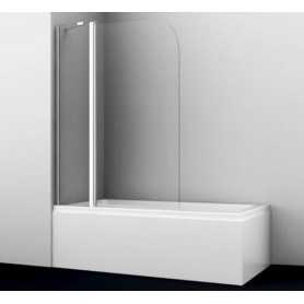 Шторка стеклянная Wasser kraft Leine 35P02-110 стекло прозрачное