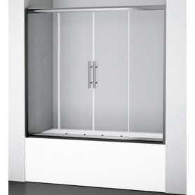 Стеклянная шторка Wasser kraft Amper 29S02-170 стекло прозрачное