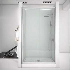 Фото Душевая дверь 120 Aquanet Alfa NAA6121 прозрачное стекло santekhnika-kupit.ru