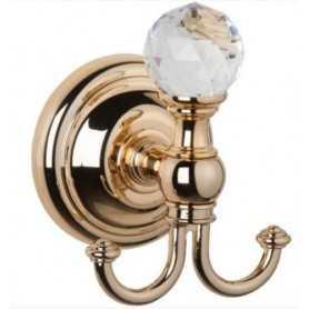 Фото Крючок Tiffany World Crystal TWCR016.DO цвет золото santekhnika-kupit.ru