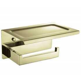 Фото Держатель туалетной бумаги Boheme New Venturo 10311-G цвет золото