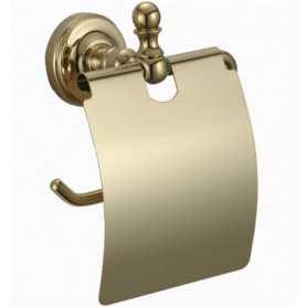 Фото Держатель туалетной бумаги Ganzer GZ 31030E цвет золото santekhnika-kupit.ru