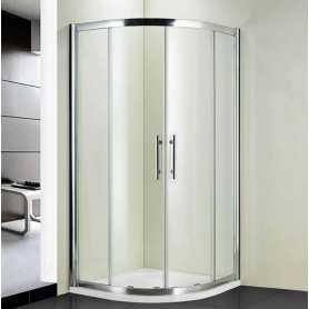 Душевой уголок 100x100 RGW Hotel HO-51 стекло прозрачное