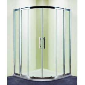 Душевой уголок 120x120 RGW Hotel HO-511 стекло прозрачное