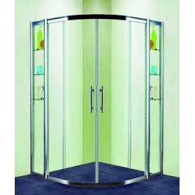 Душевой уголок 110x110 RGW Hotel HO-512 стекло прозрачное