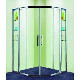 Душевой уголок 130x130 RGW Hotel HO-512 стекло прозрачное